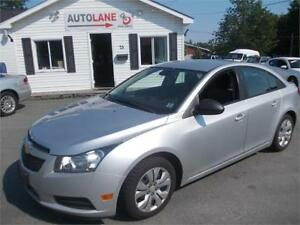 2013 Chevrolet Cruze LS New MVI Financing available!