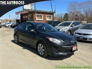 2012 Mazda Mazda3 GX REDUCED! CERTIFIED! ACCIDENT FREE! WARRANTY