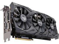 Nvidia Asus 1070 Strix OC Gaming Graphics GPU Card