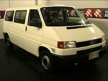 1996 Volkswagen Transporter T4 (LWB) White 4 Speed Automatic Van Cardiff Lake Macquarie Area Preview