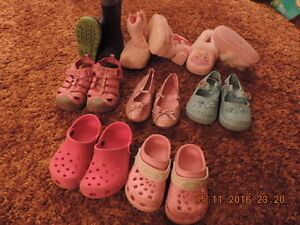 Young Girl's Rain Boots, Shoes, Sandals & Slippers Sizes 6 - 11