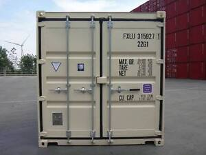 20' SHIPPING CONTAINER NEW BUILD DOUBLE DOOR UNIT SALE $3250+GST Gympie Gympie Area Preview