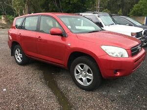 2007 Toyota RAV4 ACA33R MY08 CV Red 4 Speed Automatic Wagon Caloundra West Caloundra Area Preview