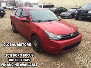 2011 FORD FOCUS SES - FINANCING AVAILABLE