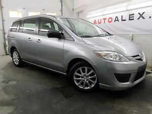 2010 Mazda5 7 PASSAGER AUTO A/C MAGS 102,000KM