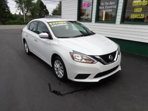 2017 Nissan Sentra SV for only $143 bi-weekly all in!