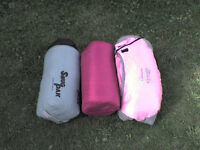 2 Adult Sleeping Bags + a FREE Smaller one