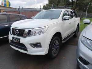 2017 Nissan Navara D23 S2 ST N-SPORT White 7 Speed Sports Automatic Utility Dandenong Greater Dandenong Preview