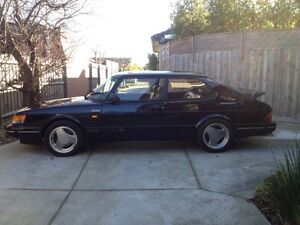 1990 Black Saab 900 Aero Turbo 16S - Carlsson Wheels Huntingdale Monash Area Preview