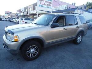 2002 Ford Explorer XLT Brown SUV Leather V6 4.0L  351,000km
