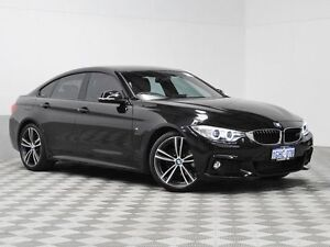 2015 BMW 420I F36 MY15 Gran Coupe Sport Line Black 8 Speed Automatic Coupe Jandakot Cockburn Area Preview