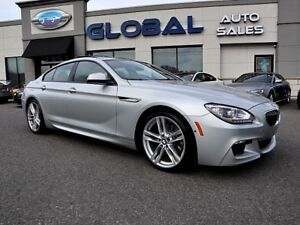 2015 BMW 640i xDrive GRAN COUPE M-SPORT ALL OPTIONS.