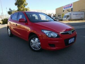2010 Hyundai i30 FD MY10 SR Red 4 Speed Automatic Hatchback Malaga Swan Area Preview