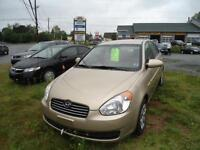2008 ACCENT 4 DR AUTO JUST INSPECTED ALL POWER ONLY $ 4,350!!