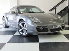 2008 Porsche Cayman 987 MY08 Grey 5 Speed Manual Coupe Mortlake Canada Bay Area Preview