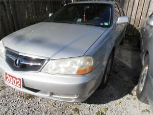 2002 Acura TL Sunroof Leather Silver 318,000km
