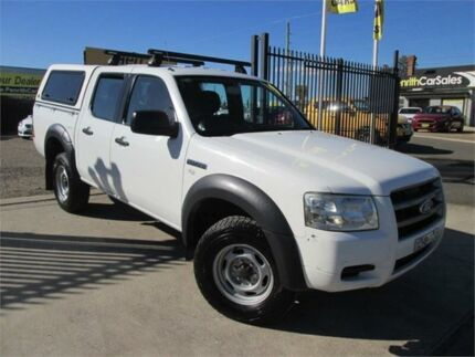 2008 Ford Ranger PJ XL Hi-Rider White Automatic Utility Penrith Penrith Area Preview