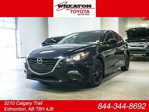2016 Mazda Mazda3 GS, Sport, Hatchback, Leather, Heated Seats, S