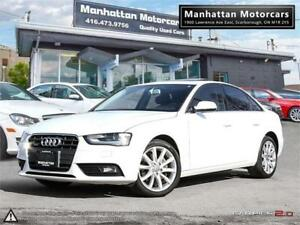 2014 AUDI A4 KOMFORT PKG |1OWNER|BLUETOOTH|XENON|ROOF|6SPEED