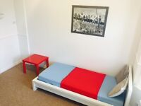 ***Single room (double size) room 2 min from Poole hospital, patio *** GR