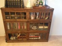 Macey's three tier lawyer's bookcase
