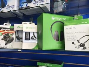 XBOX ONE AND XBOX 360 ACCESSORIES AVIALABLE *BRAND NEW*