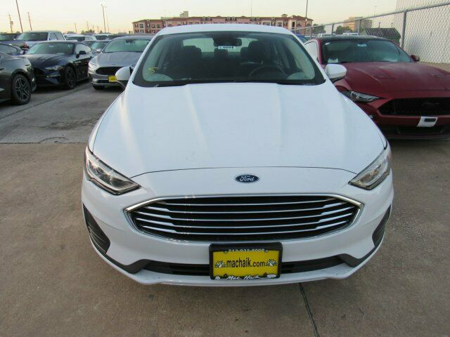 Owner 2020 Ford Fusion SE 1121 Miles Oxford White 4dr Car Intercooled Turbo Regular Un