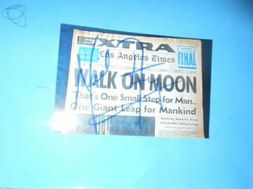 Autographed astronaut neil armstrong picture