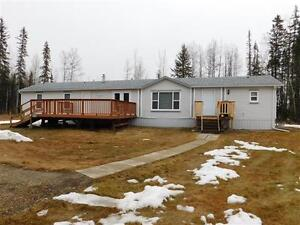 Mobile Home and Garage on 6 acres, Edson, AB