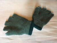 Men's Brora fingerless gloves