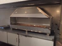 STAINLESS STEEL COMMERCIAL KITCHEN CANOPY EQUIPMENT RESTAURANT BAKERY CAFE SHOP PIZZA TAKEAWAY