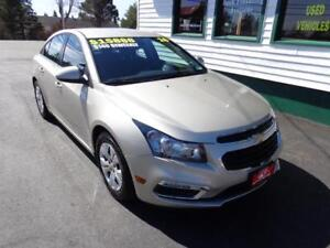 2016 Chevrolet Cruze Limited LT for only $140 bi-weekly all in!