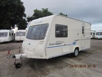 2009 BAILEY RANGER GT60 460 2 BERTH CARAVAN WITH MOTOR MOVER ANDERSON CARAVAN SALES
