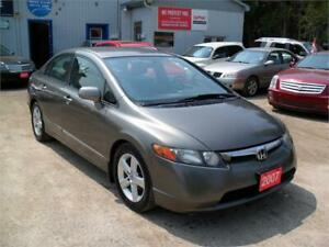 2007 Honda Civic Sdn LX|NO ACCIDENTS|SERVICED|RELIABLE