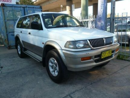 1999 Mitsubishi Challenger PA (4x4) White 4 Speed Automatic 4x4 Wagon Holroyd Parramatta Area Preview