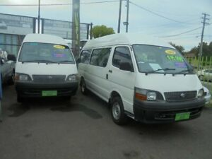 2003 Toyota HiAce RZH125R Commuter White 5 Speed Manual Bus Punchbowl Canterbury Area Preview