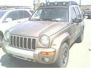 2003 JEEP LIBERTY RENEGADE LTD SUPER AUBAINE 3980$ 514-817-0095