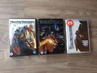 3 Transformer films.