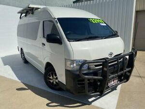 2008 Toyota HiAce KDH221R MY08 Super LWB White 5 Speed Manual Van Mundingburra Townsville City Preview