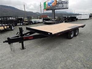 NEW 14,000# 16' HEAVY DUTY EQUIPMENT DECKOVER TRAILER