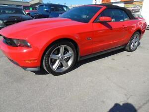 2011 FORD MUSTANG GT MANUAL CONVERTIBLE 5.0 V8 5 SPEED