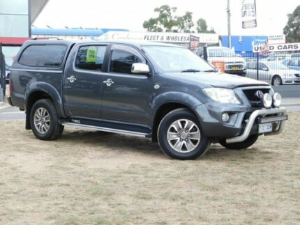 2008 TRD Hilux 4000SL (4x4) GGN25R Grey 5 Speed Automatic Dual Cab Pick-up Belconnen Belconnen Area Preview