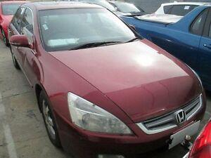 2004 Honda Accord 40 V6 Luxury Red 5 Speed Automatic Sedan Moorabbin Kingston Area Preview