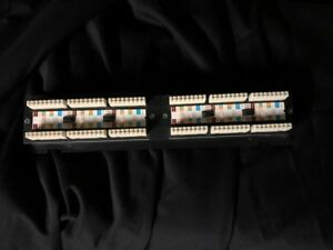 Cat5e Patch Panel 12 port