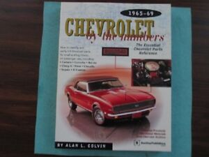 Chevrolet  by the numbers     1965 - 1969