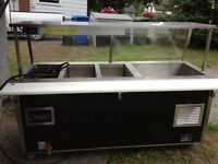 Hot/Cold Steam Table