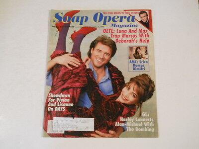 Jeanne Cooper  Fiona Hutchinson  Kelly Ripa   Soap Opera Magazine 1992