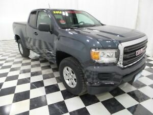 2015 GMC Canyon 2WD Ext Cab 6 Speed Manual with Tonneau Cover