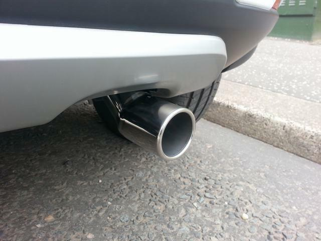 Chrome Exhaust Tailpipe (50mm-59mm) Stainless Steel (CT1) M17/5