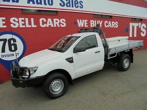 2012 Ford Ranger PX XL White 6 Speed Manual Cab Chassis Welshpool Canning Area Preview
